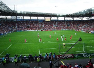 Das Stade de Geneve (Bild: Wikipedia/Petr Kadlec).