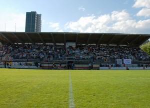 Das Gurzelen-Stadion in Biel (Bild: Wikipedia/Paul Morphy/CC-Lizenz).