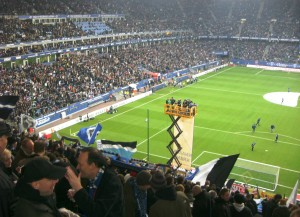 Die Hamburger Imtech-Arena (Bild: Wikipedia/Frisia Orientalis).