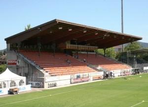 Das Stadion Brügglifeld in Aarau (Bild: Wikipedia/Patrick Haller/CC-Lizenz).