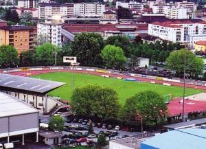 Das Stadio Comunale in Chiasso (Bild: Wikipedia/Elvezio Rigamonti/CC-Lizenz).