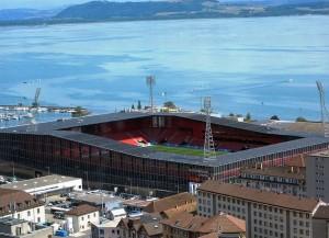 Nächste Saison werden in Neuenburg wieder Challengue League Spiele geboten (Bild: Wikipedia/Sandstein/CC-Lizenz).