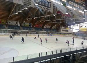 Die Güttingersreuti - hier spielt der HC Thurgau (Bild: Wikipedia/California Hockey).