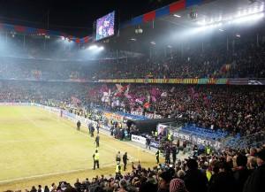 Spielt diese Saison ein Challenge-League-Team im Cup-Final? Dieser fand 2015 in Basel statt (Bild: Wikipedia/Luca-bs).