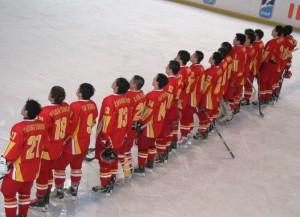 Die chinesische Eishockey-Nationalmannschaft (Bild: zweiteliga.org).