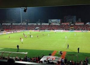 Blick in die Elbasan Arena (Bild: Wikipedia/Vergogc).
