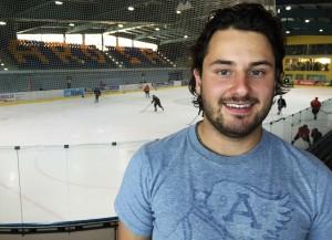 Gianmarco Guidon spielt neu für den EHC Arosa (Bild: zVg/EHC Arosa).