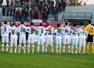 Lausanne Sport bliebt Leader in der Challenge League (Bild: Wikipedia/Fanny Schertzer).
