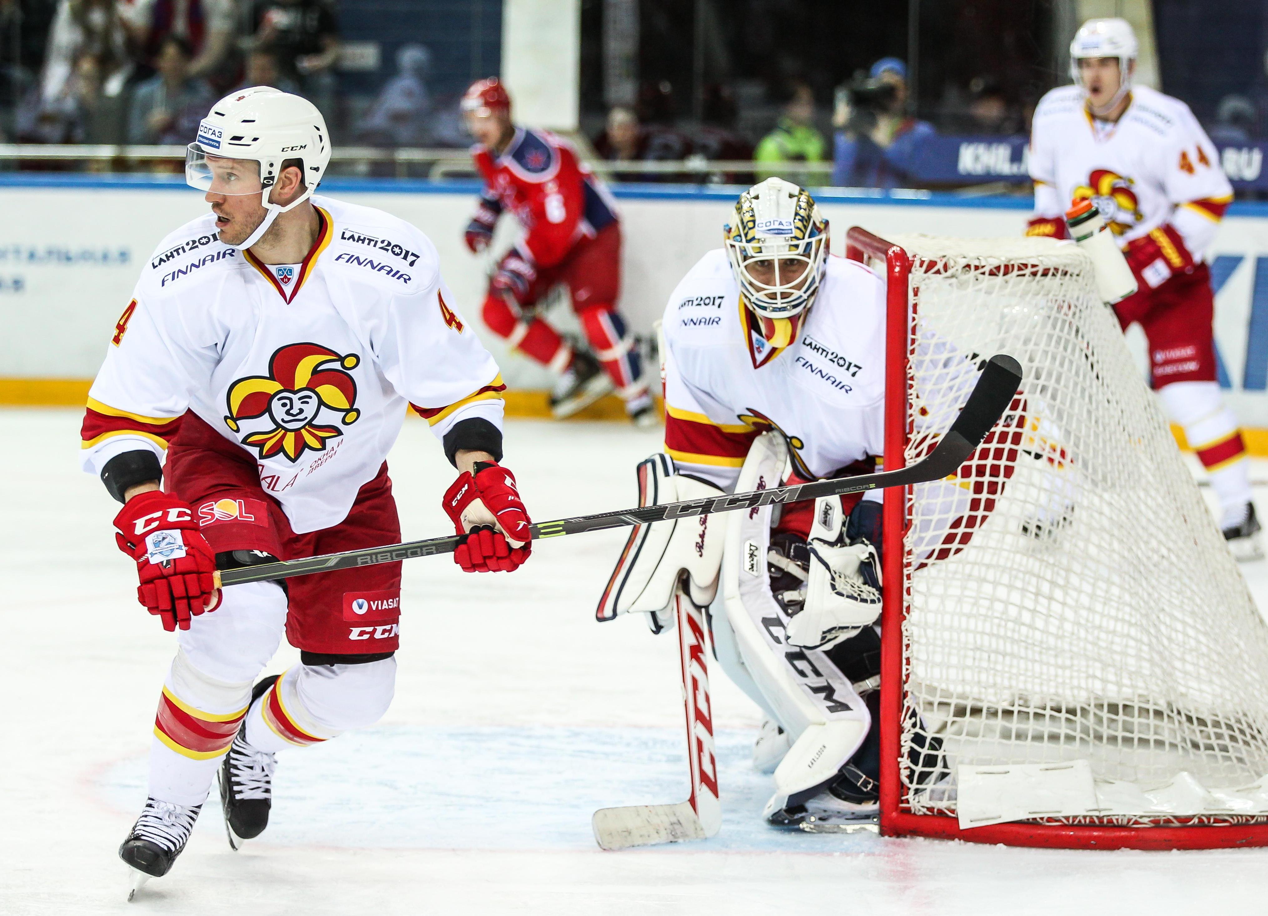 Jokerit Helsinik als KHL-Top-Team am Spengler-Cup