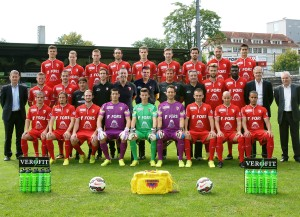 Frühere Aufstellung des FC Biel (Pressedienst FC Biel).