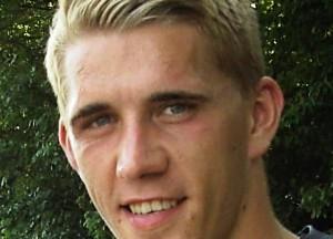Nils Petersen vom SC Freiburg (Wikipedia/Opihuck).
