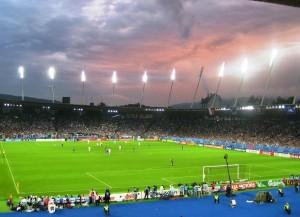 Der Letzigrund, die Heimspielstätte des FC Zürich (Bild: Wikipedia/Nicholas B.).