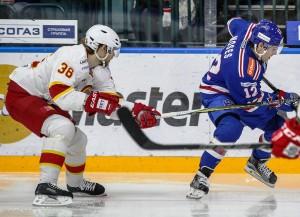 Hier kämpft Jokerit Helsinki gegen SKA St. Petersburg (Bild: Jokerit Helsinki/Pekka Rautiainen).