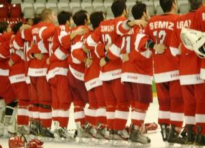 Eishockey Nationalteam der Türkei (Bild: zweiteliga.org).