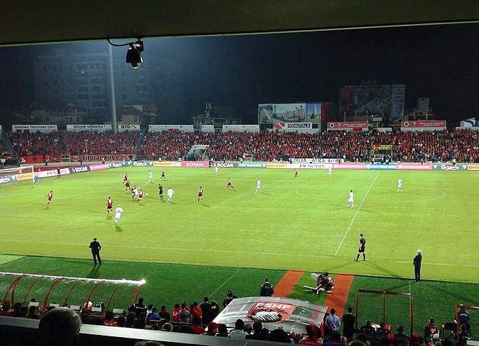 Albanien trumpft auf