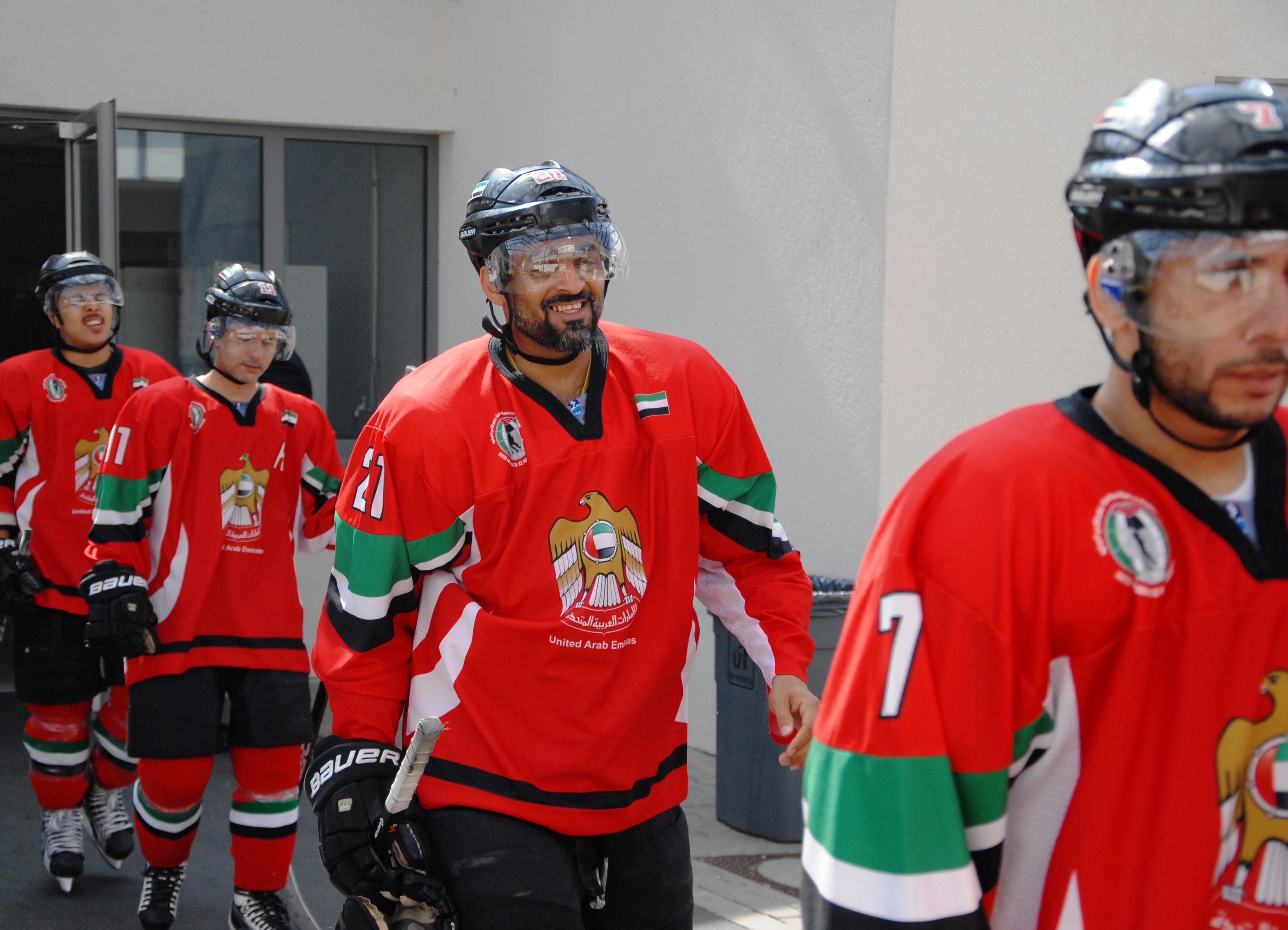 Die Hockeycracks aus den Emiraten