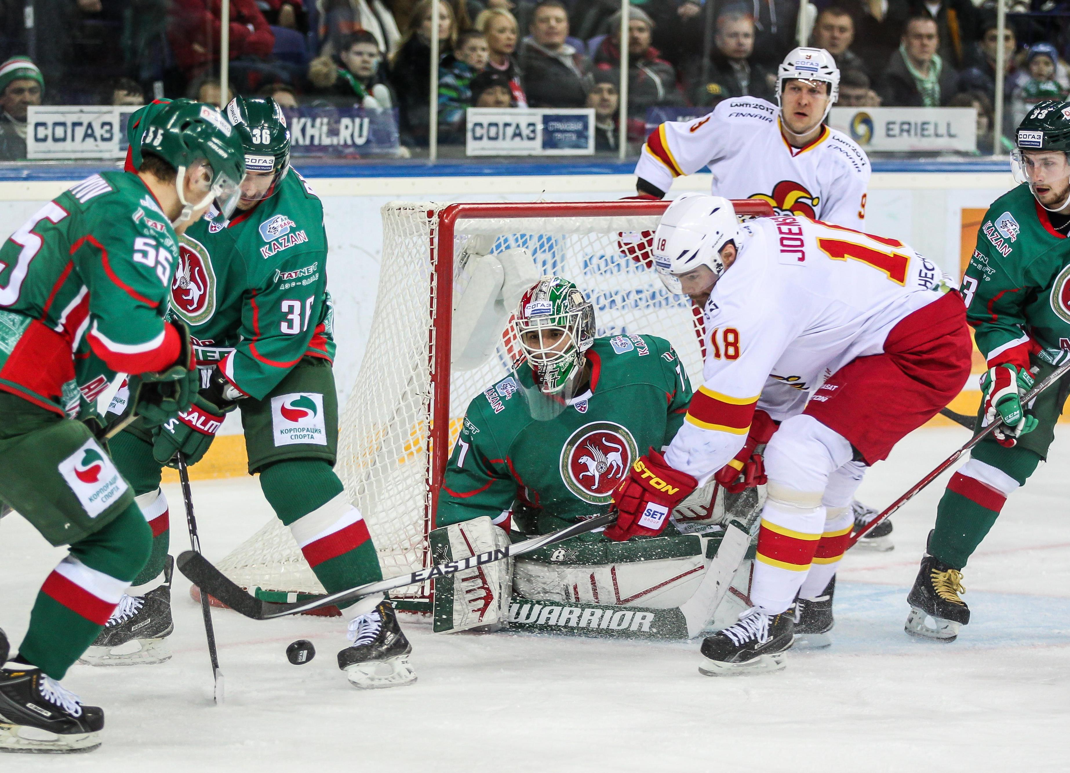 Jetzt ist Bars Kasan KHL-Rekordmeister