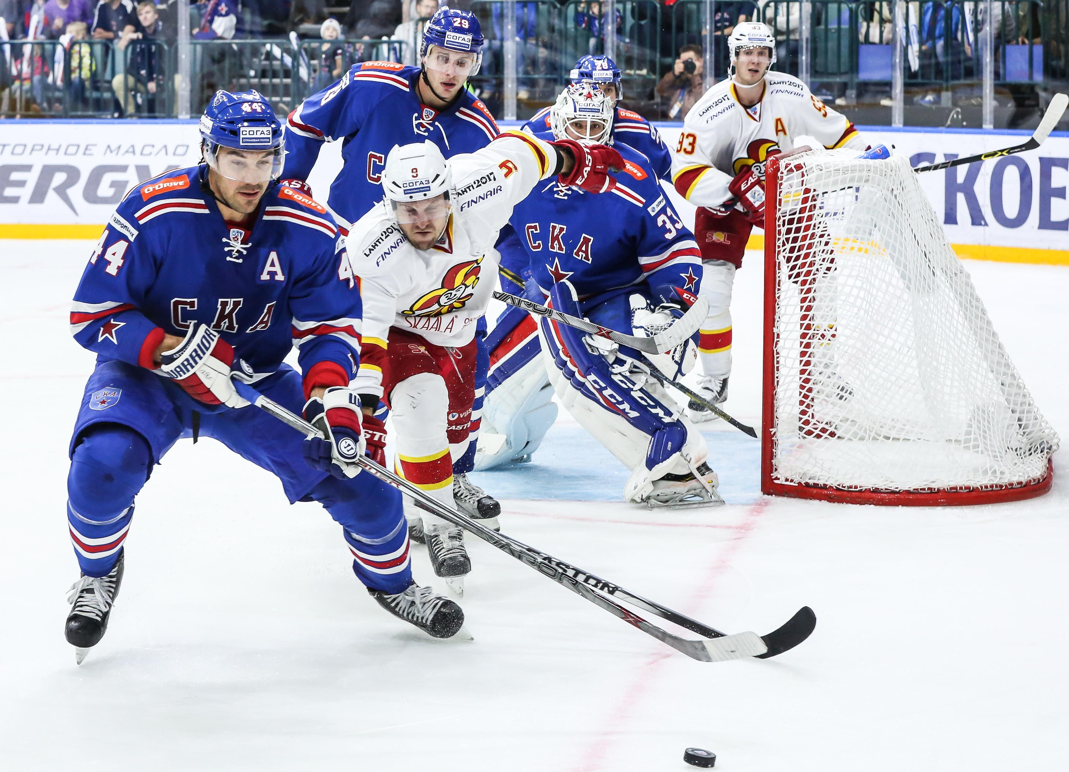 KHL: Top-6 ist unter sich