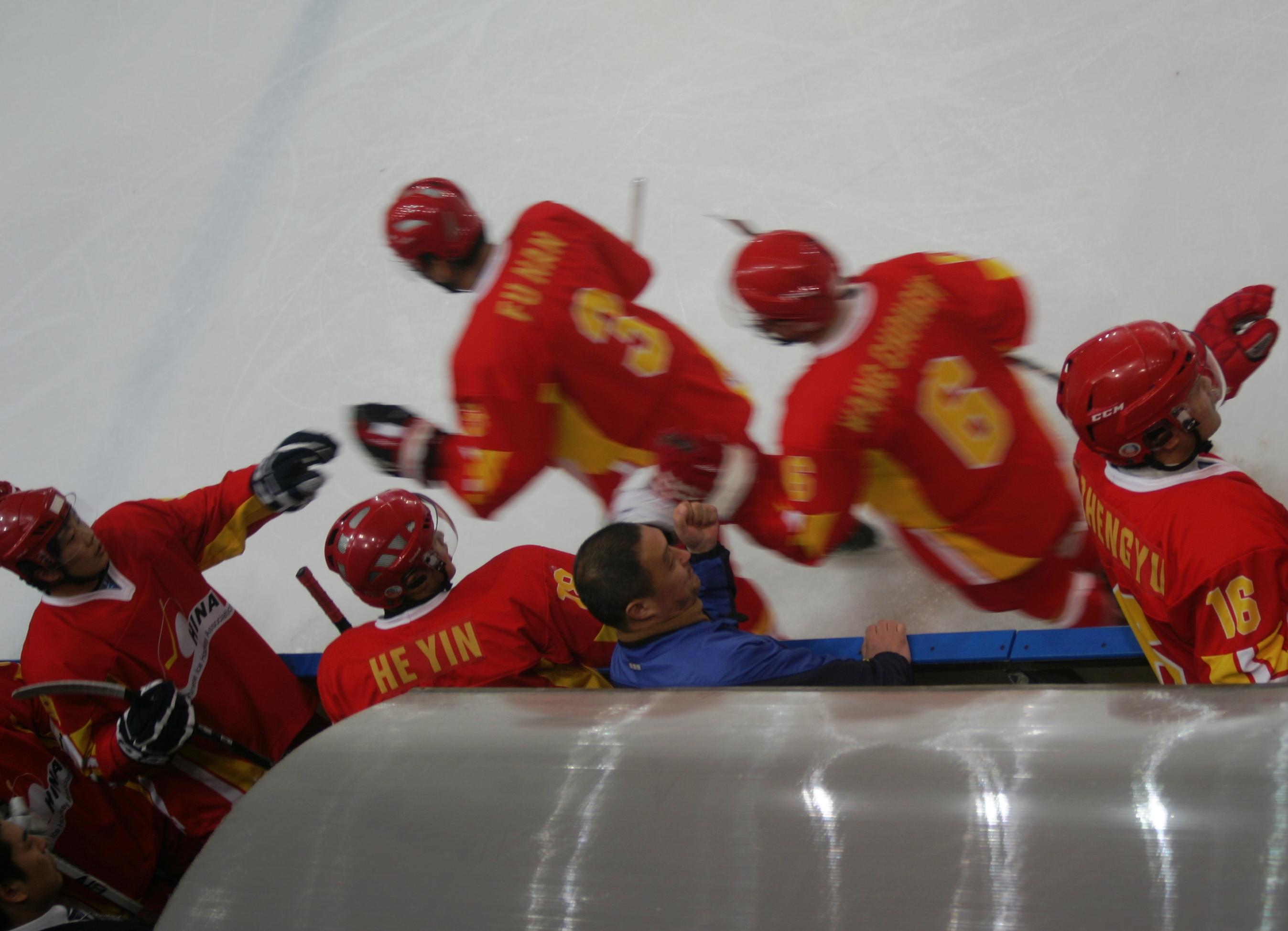 Eishockey-WM in Spanien: China steigt ab