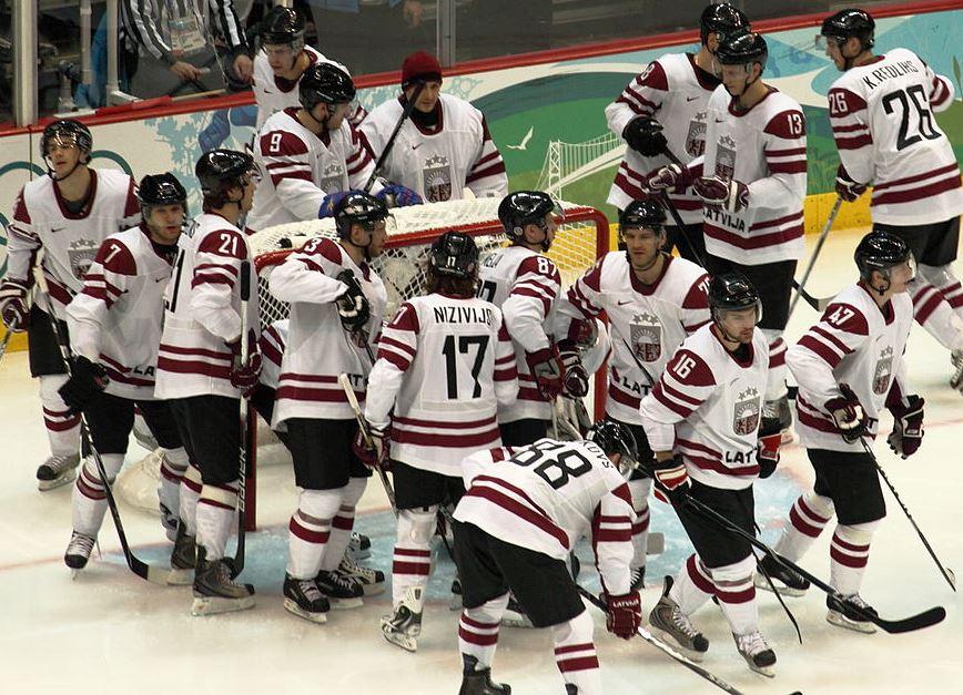 Mit Lettland steht ein KHL-Team auf dem WM-Eis