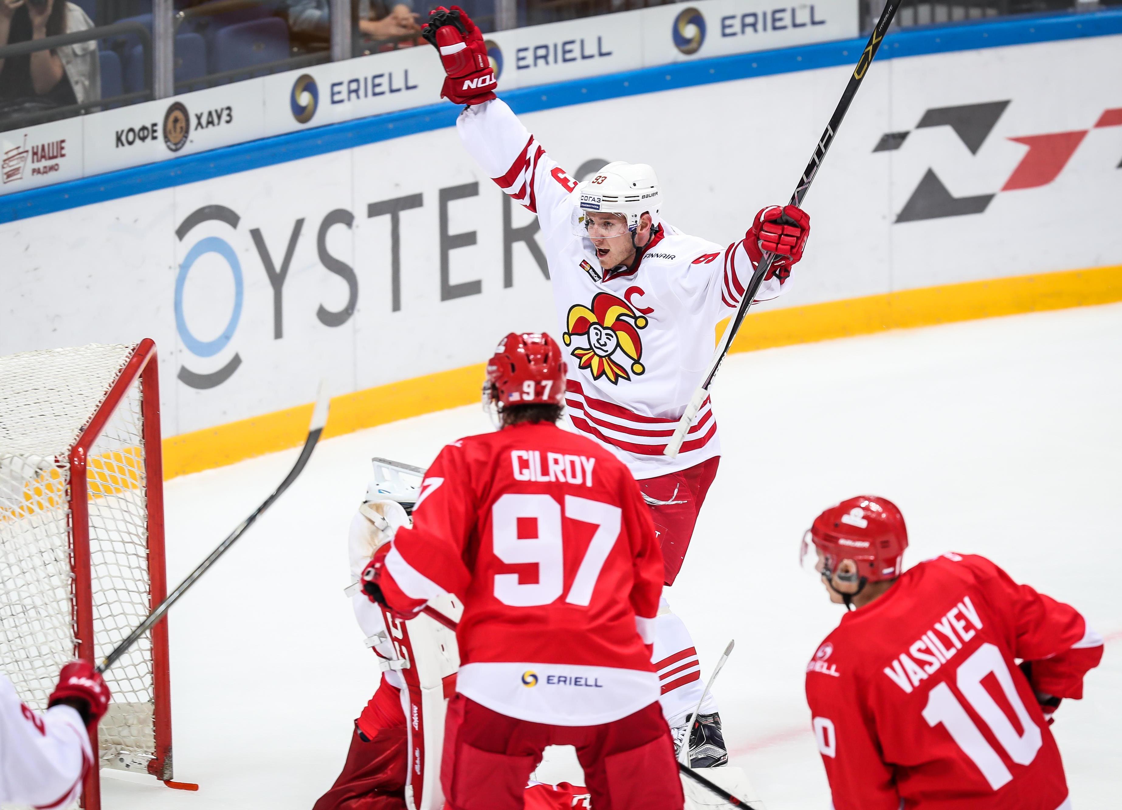Jokerit Helsinki auf KHL-Erfolgswelle