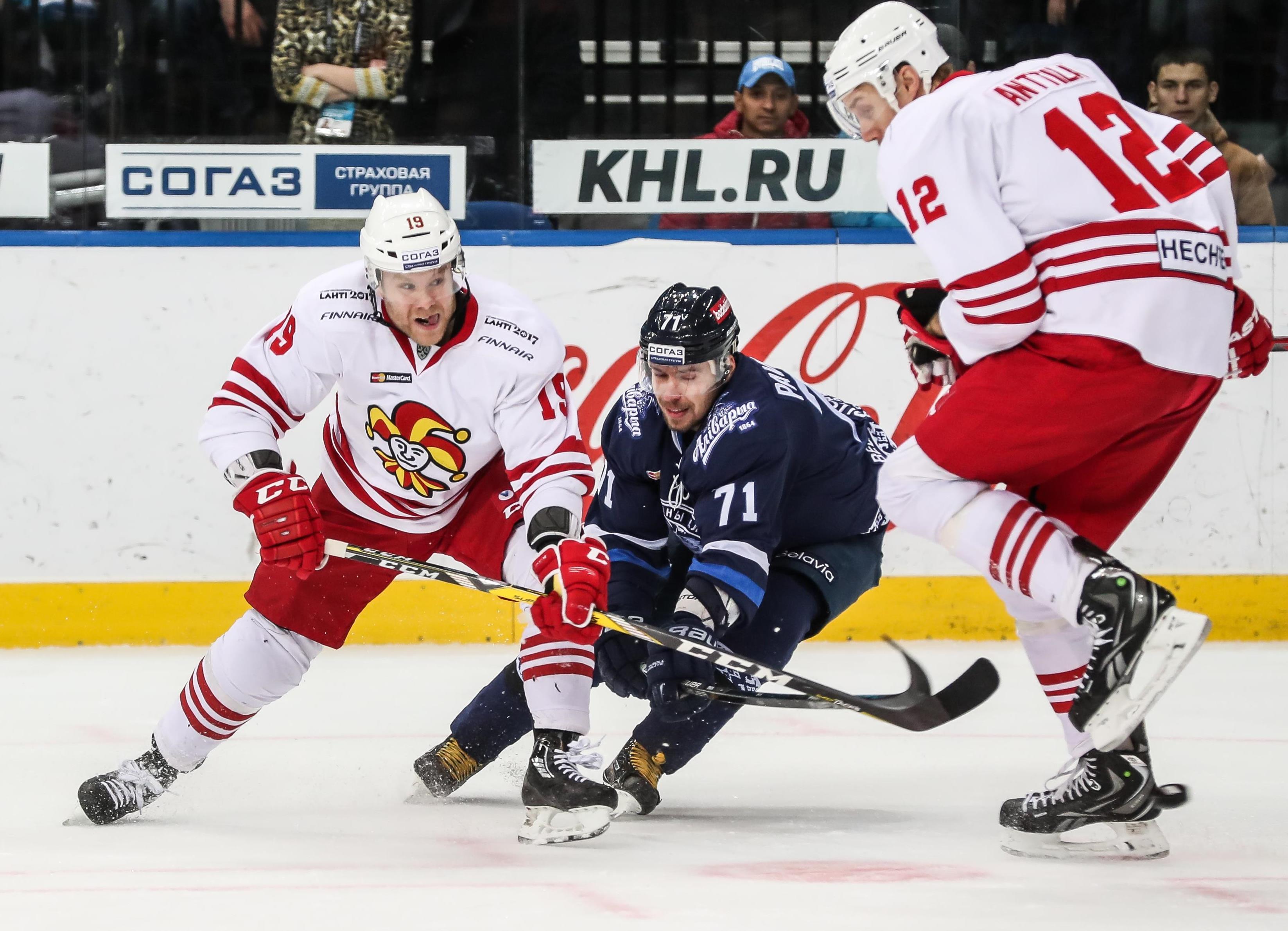 Jokerit Helsinki und Kunlun Red Star im Aufwind