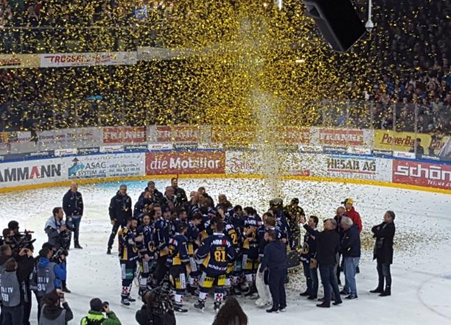 Der SC Langenthal holt den Titel und ist das erfolgreichste Swiss-League-Team